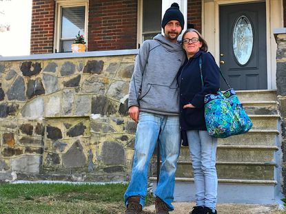 With the help of Catholic parishioners in Anne Arundel County, Jason Gill and Brandi Gaver are living in an apartment in West Baltimore and working on a transition out of homelessness and drug abuse.