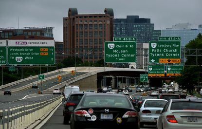 Virginia plans to expand the 495 Express Lanes north to the American Legion Bridge.