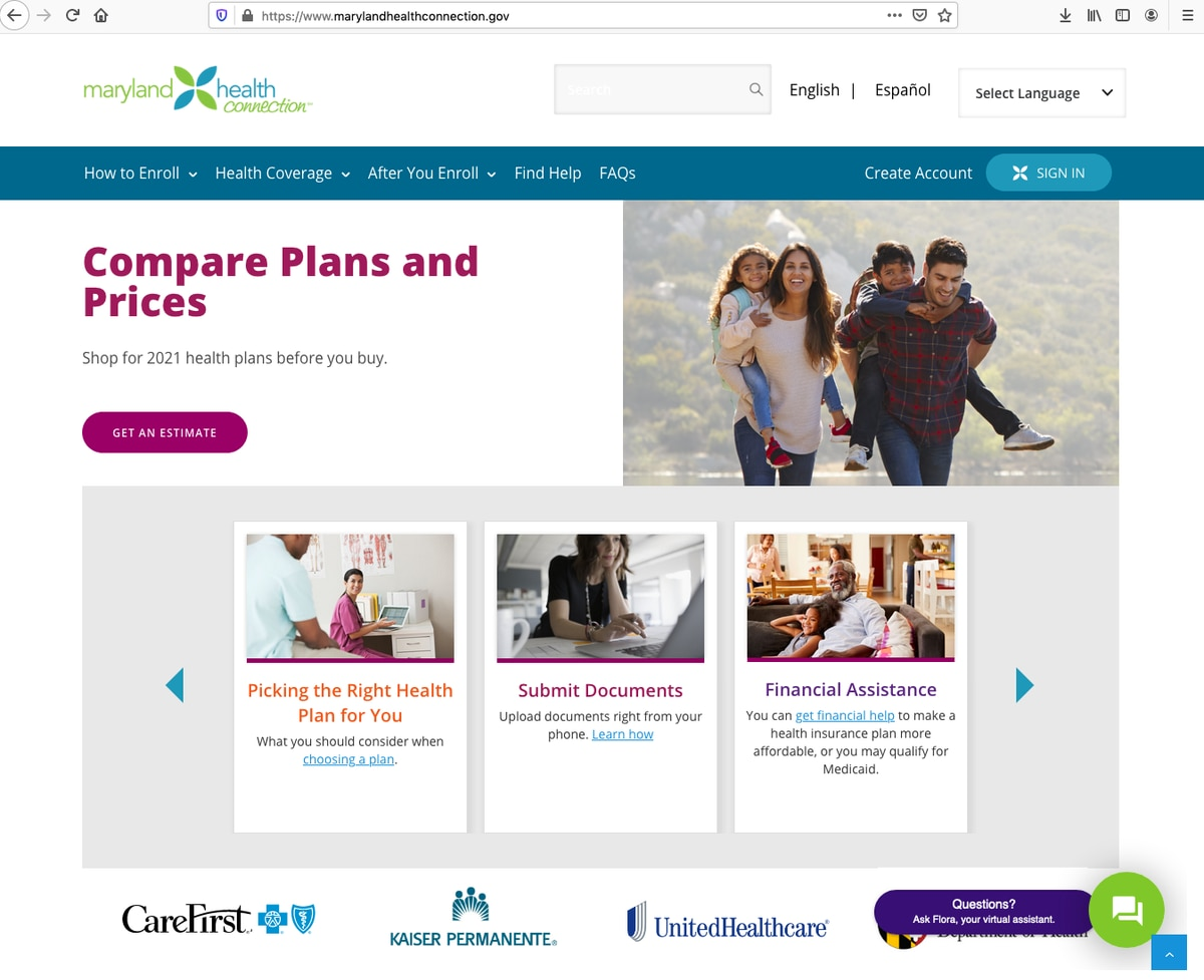 Maryland extends health insurance special enrollment ...