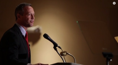O'Malley email implies a candidacy announcement: 'New leadership is needed to move our country forward'