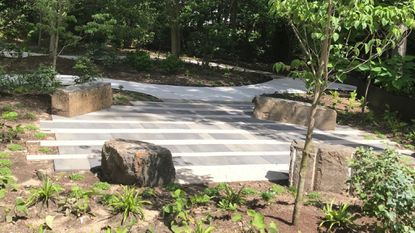The Woodland Terrace in the Children's Memorial Garden at Hospice of the Chesapeake's John & Cathy Belcher Campus.A Remembrance Ceremony is planned for June 23.