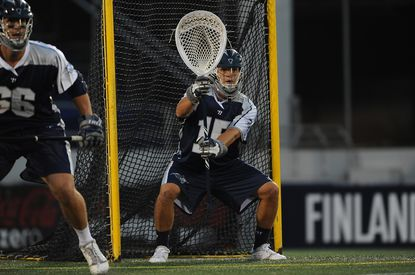 Bayhawks goalie Kip Turner will be a key figure when the No. 2-seeded Bayhawks (9-5) face the No. 3 Hamilton Nationals in the MLL semifinals Saturday in Chester, Pa.