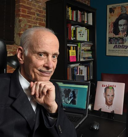 John Waters, Baltimore filmmaker, writer, artist and performer, in his Hampden office in May 2019. (Amy Davis/Baltimore Sun/TNS) ** OUTS - ELSENT, FPG, TCN - OUTS **