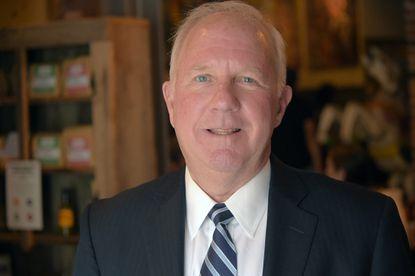 Democratic gubernatorial candidate Jim Shea.