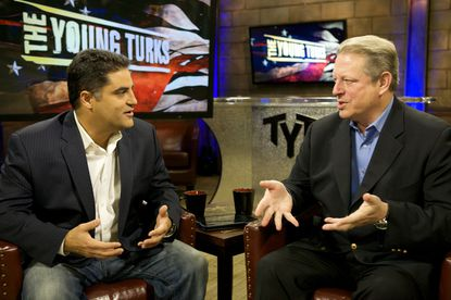 Cenk Uygur and Al Gore will be at the heart of Current TV convention coverage.