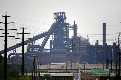RG Steel mill at Sparrows Point