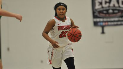 Laurel resident Kayla Wilson started eight games and averaged six points a game for Frostburg State University as a freshman guard.