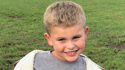 Tripp Johnson, 7, of Joppa, was one of the two killed in Monday's accident on Route 24 in Bel Air.