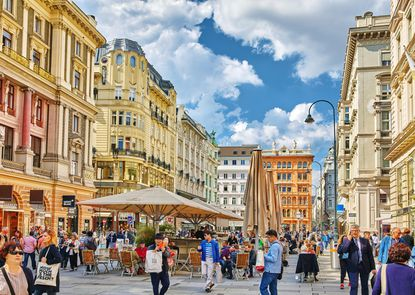 Vienna was the home of great musical minds such as Wolfgang Mozart, Ludwig van Beethoven, and Franz Schubert, and they helped bring attention to this old European city.