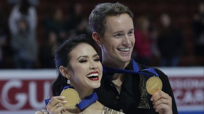 Madison Chock and Evan Bates pull off surprise win at Four Continents Championships
