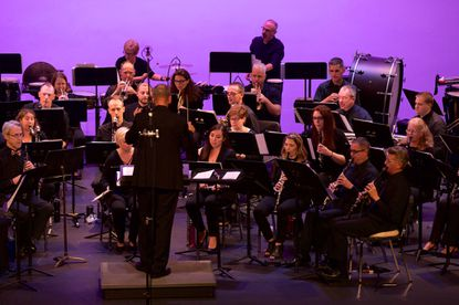 Maryland Winds, a nonprofit professional-level ensemble, will perform at Liberty High School next Tuesday.