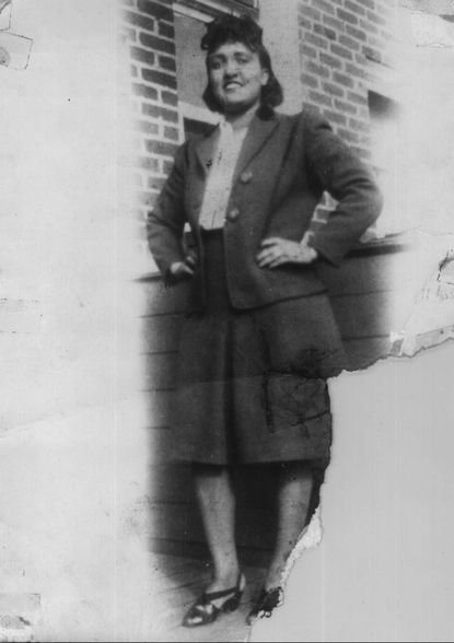 """Henrietta Lacks, who died in 1951 of ovarian cancer at Johns Hopkins. Her HeLa cells are the only cells known to be """"immortal"""" and are still used in research."""