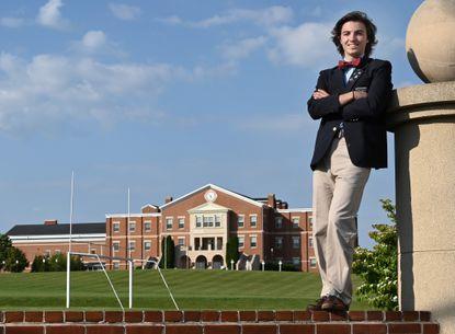 CJ Kovalsky, a 2020 graduate of Gerstell Academy, will attend Elon University in the fall.