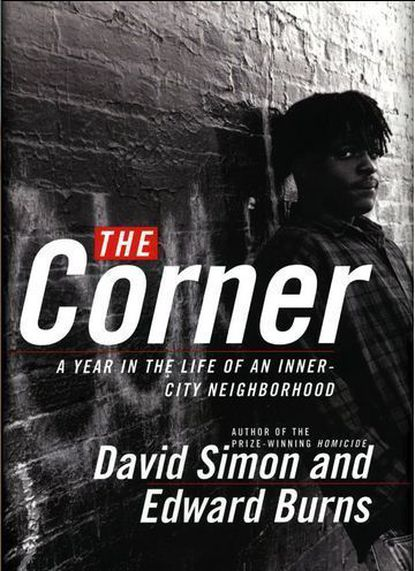 "Deandre McCullough, shown here on the cover of the 1997 book ""The Corner,"" died of an apparent drug overdose this week"