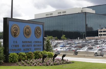 The National Security Administration campus in Fort Meade, where the U.S. Cyber Command is located.