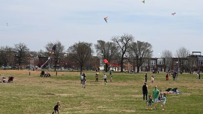 From skydancing to fighting: The international art and craft of flying a kite at Patterson Park