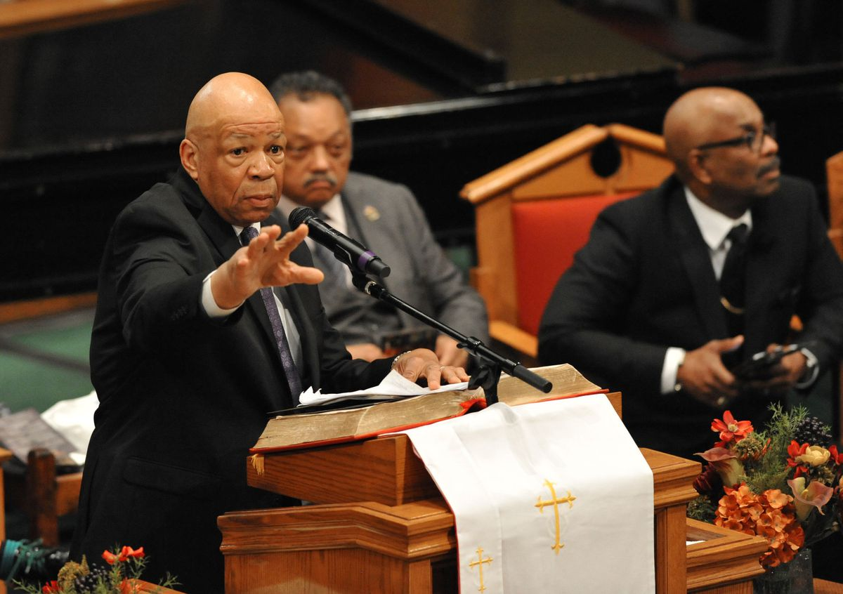Elijah Cummings: a righteous man who believed in a better America, a better Baltimore