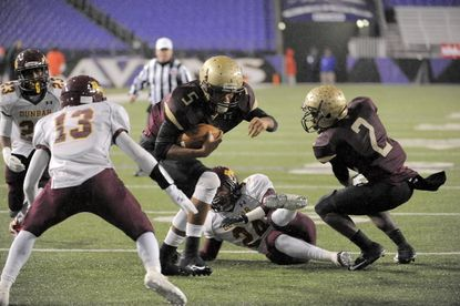 In the state Class 2A championship game against Dunbar in December at M&T Bank Stadium, Douglass quarterback Devin Butler rushed for 95 yards and two touchdowns in a 38-0 victory.