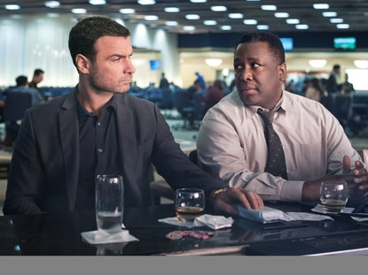 "Liev Schreiber as Ray Donovan and Wendell Pierce as Ronald Keith in the Showtime drama ""Ray Donovan"" Sundays at 9 p.m."