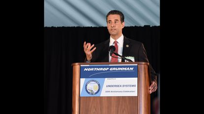 In Annapolis several months ago, Rep. John Sarbanes recognized the Northrop Grumman Undersea Systems team for five decades of innovation, impact and service to the community, the U.S. Navy and the country.