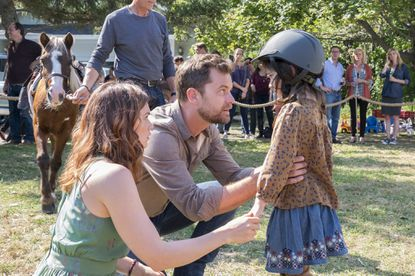 """Ruth Wilson as Alison and Joshua Jackson as Cole in """"The Affair"""""""