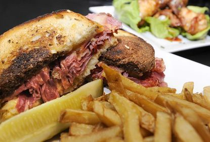 Lunch review: At The Falls, it's what's between the bread that counts