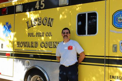 Wayne Sharpe worked as a contingent at the Lisbon Volunteer Fire Company for more than 33 years. He is now looking for another job.