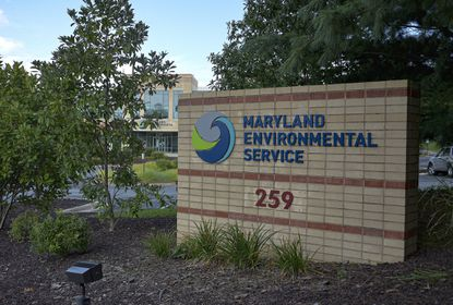 The Maryland Environmental Service headquarters is shown Aug. 28, 2020, in Millersville.