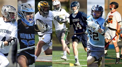 Nominees for the Howard County 2016 Fan's Choice boys lacrosse Player of the Year are: Lewy Anania (Marriotts Ridge), Josh Vetter (Howard), Casey DuBois (Mt. Hebron), Ryan Tiffey (Wilde Lake), Jackson Hill (Reservoir), Jake Friedman (River Hill) and Evan Riss (Oakland Mills).