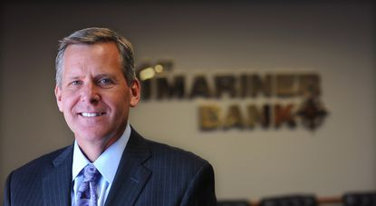 Baltimore, MD -- Robert Kunisch is president and chief operating officer of First Mariner Bank. Barbara Haddock Taylor/Baltimore Sun