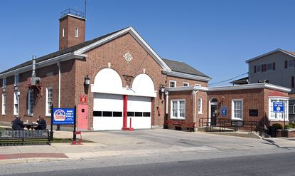 Fire personnel moved back into the fire station on Frederick Road in Catonsville on April 19. A maintenance issue had forced personnel and vehicles to temporarily relocate to nearby stations.