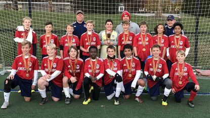 The Freedom Soccer Club Predators under-12 boys team recently won the Columbia Fall Classic tournament title.