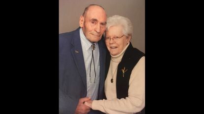 """Gary Brauning and Martha Virginia Brauning were married for 66 years. Daughter Jane B. Hoffman said the two were """"a packaged deal so to speak."""""""