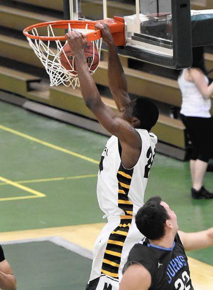 Men's basketball: Green Terror miss opportunity, fall to Hopkins