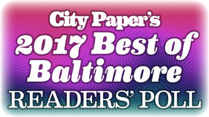 The Best of Baltimore Readers' Poll is live, and the date for the Best Of party is set