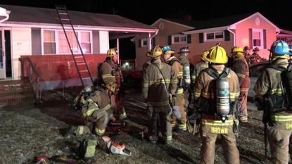 Anne Arundel County Firefighters responded to a fatal fire in Glen Burnie Wednesday night.