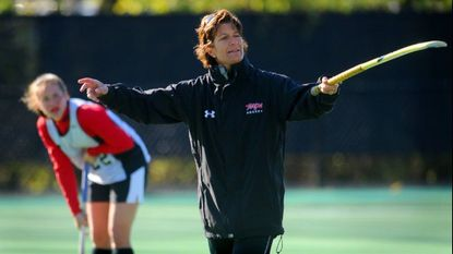 Missy Meharg, longtime coach of the Terps field hockey team, is among those who will help find a successor to recently departed athletic director Kevin Anderson.
