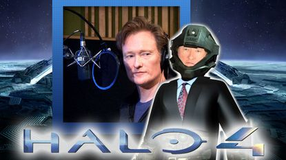 """Conan O'Brien announced the release date 'Halo 4' on his show this week, although the late night host admitted he is """"not a gamesman."""""""