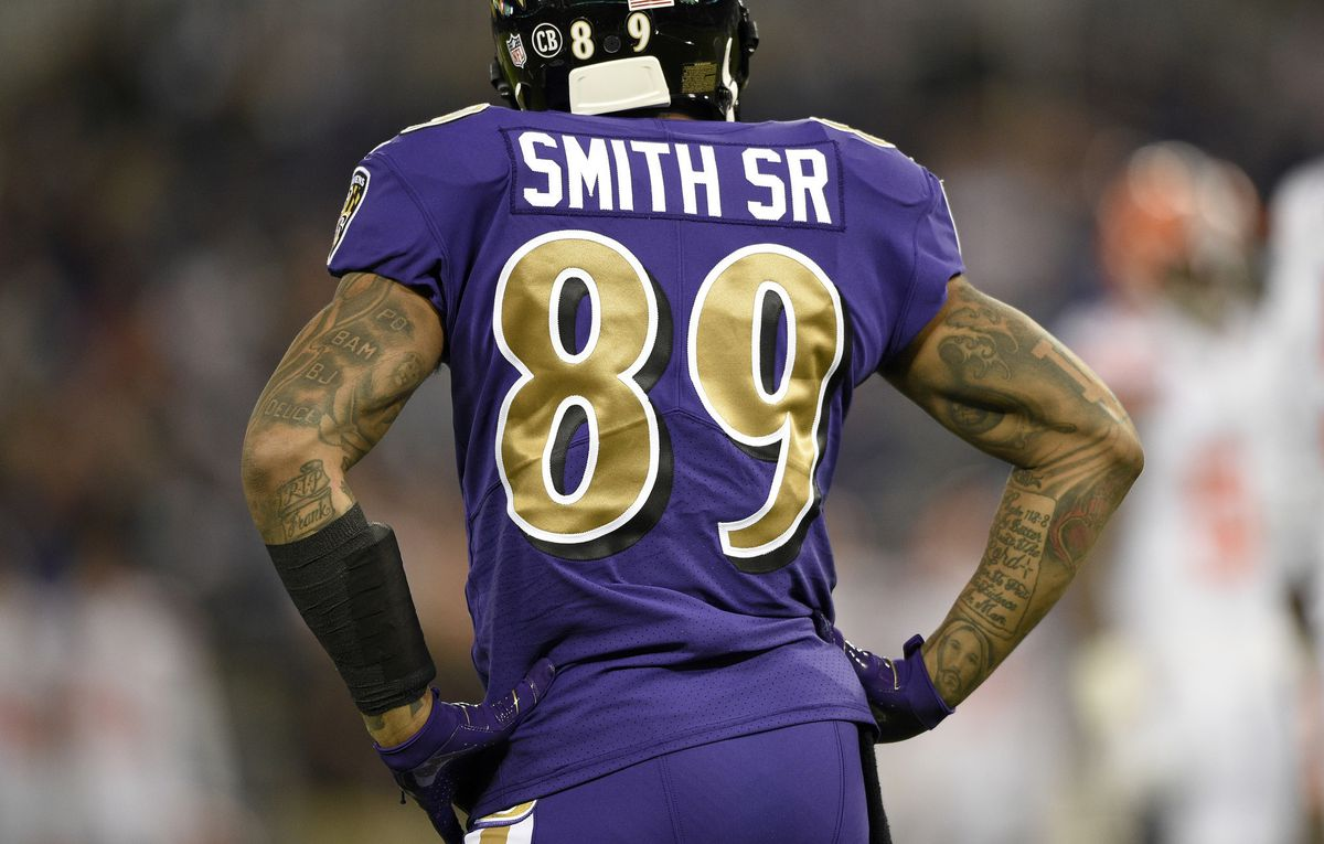 Ravens wide receiver Steve Smith Sr. asked Ray Lewis for ...