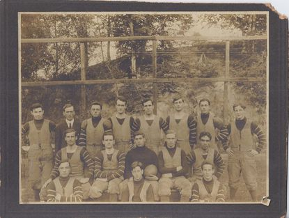 Rock Hill College Football Team 1910.
