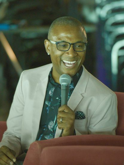 Comedian Tommy Davidson performs at the Baltimore Comedy Factory September 19-22.