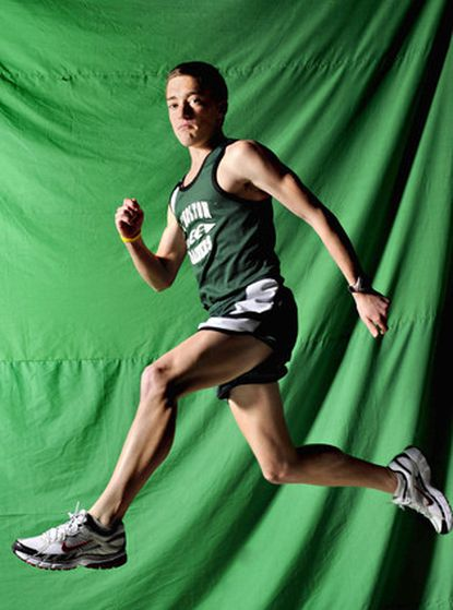 Atholton's Graham Bazell is the All-Metro Runner of the Year for boys cross country.