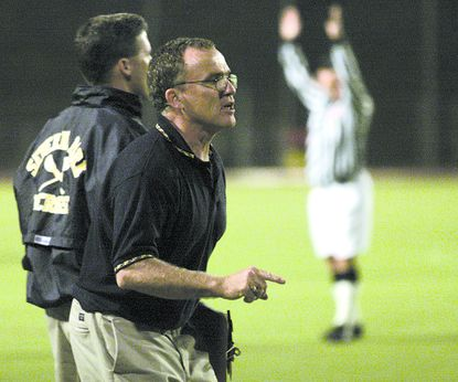Brien McMurray, who led Severna Park boys' lacrosse to an 18-1 record and a berth in the Class 4A-3A state championship in his lone season as head coach in 2003, died Oct. 31 after a long battle with Parkinson's Disease. He was 69 years old.