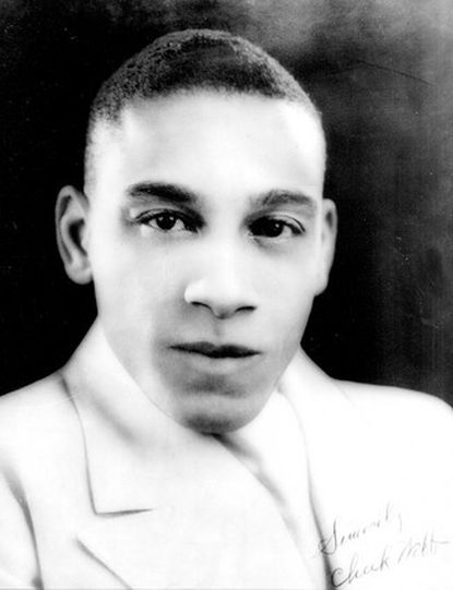 "Baltimore native Chick Webb was swing-era jazz drummer known for ""Stompin' at the Savoy."""