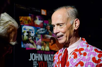 "Baltimore's own John Waters, at the Sept. 5 opening of ""Fifty Years of John Waters: How Much Can You Take?,"" a retrospective put together by the Film Society of Lincoln Center and running in New York through Sept. 14."