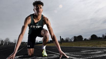 Century senior Jalen Stanton captured four individual state championships en route to being named All-Metro boys indoor track and field Performer of the Year.