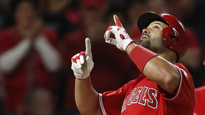Albert Pujols to have surgery on right elbow; Angels lose 5-2 to Rangers