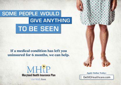 Maryland Health Insurance Plan poster.