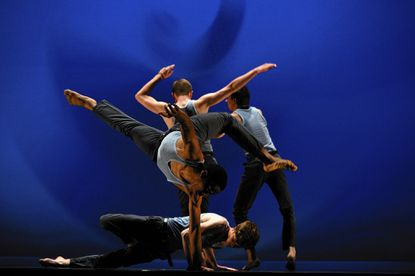 """VTDance/Vincent Thomas presents """"Occupy"""" at Theatre Project."""