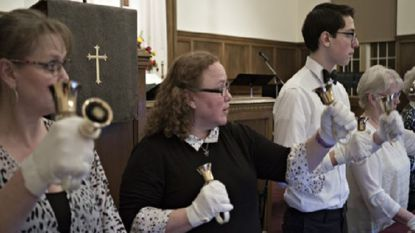 Belle Grove Legato is a bell choir made up of members from both St. Paul's United Church of Christ and Westminster Church of the Brethren.
